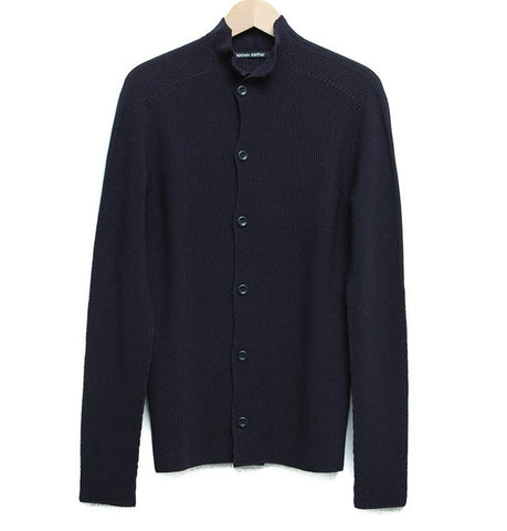 Hannes Roether Black Nestor Cardigan