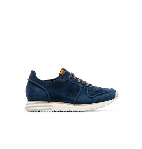 Buttero Suede Carrera Bluette Sneakers
