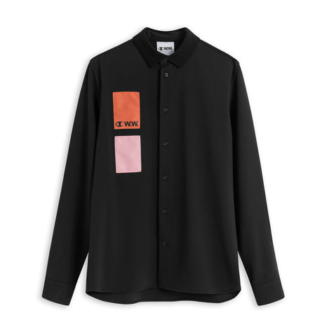 Champion x Wood Wood Black Shirt