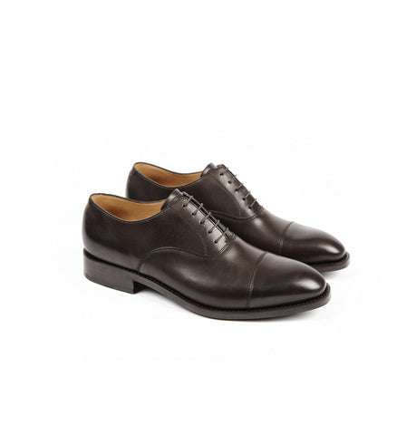 Heschung Tilleul Café Anilcalf Dress Shoe