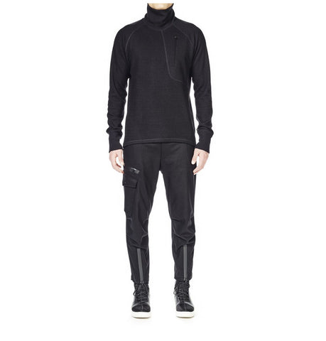 Y-3 WOOL JSY SWEATSHIRT