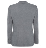 Hardy Amies Grey Bouble Breasted Blazer