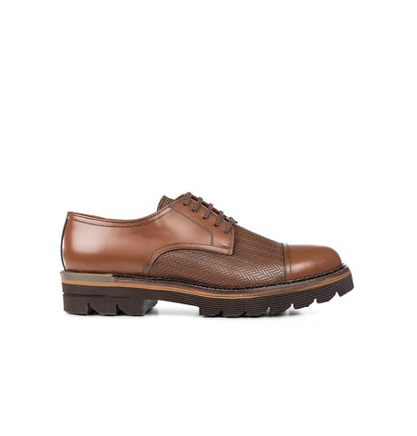 Brimarts Brown Derby Shoes