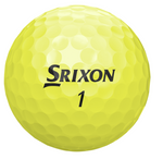 Srixon Soft Feel Golf Balls - 1 Dozen Yellow