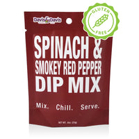 Spinach & Smokey Red Pepper Dip Mix