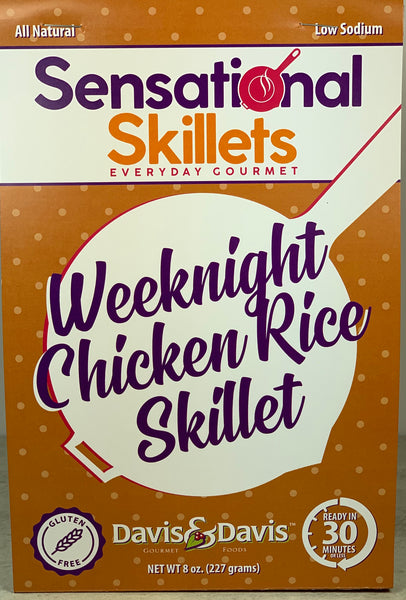 Weeknight Chicken Rice Skillet - Sensational Skillet