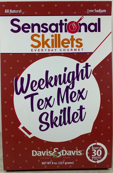 Weeknight Tex Mex Skillet - Sensational Skillet