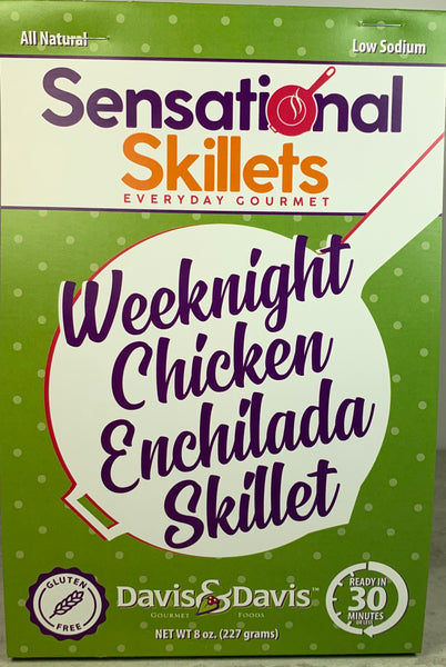 Weeknight Chicken Enchilada Skillet - Sensational Skillet