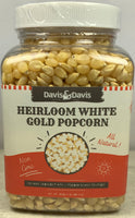 Heirloom White Gold Popcorn Kernels - 1#