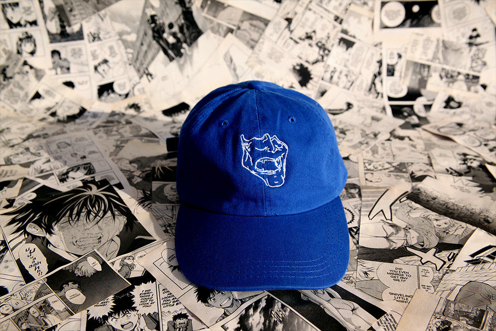 Blue Mask Cap