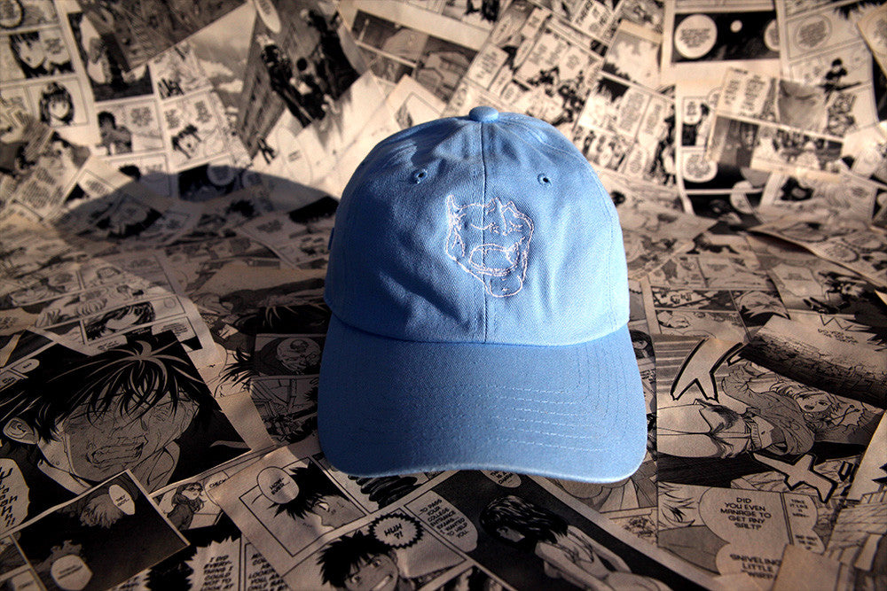 Baby Blue Mask Cap