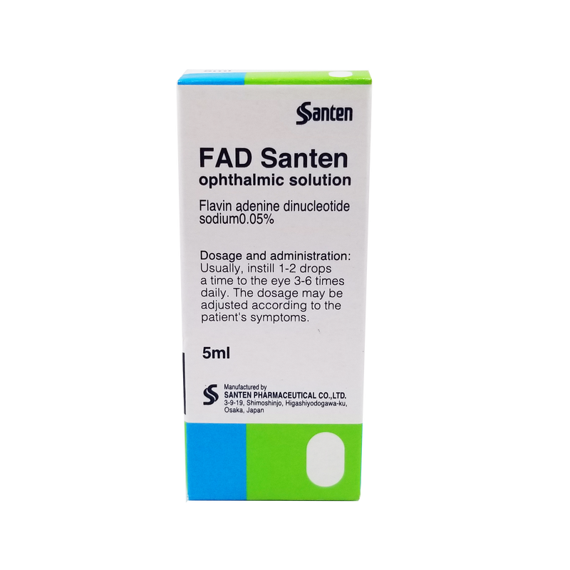FAD Santen Ophthalmic Solution 0.05 % 5 ml