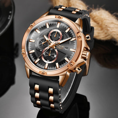 2020 LIGE New Military Luxury Watch - Jim Mullin Official