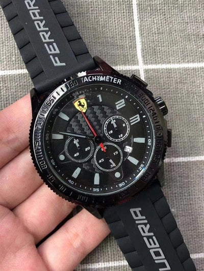 FERRARI WORLD Sport Wristwatch - Jim Mullin Official