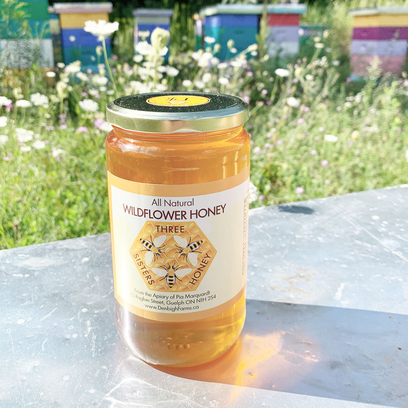three sisters honey 1kg