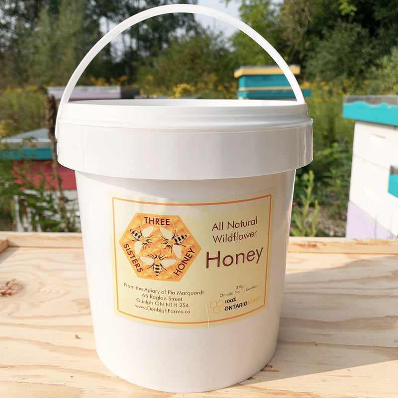 three sisters honey 3kg