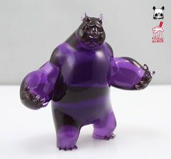 "Aaron Woes Martin ""Angry Woebots"" - Grape Panda King 3 Mini"