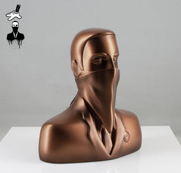 "ABCNT - ""ABCNT"" Bronze Resin Sculpture - Silent Stage Gallery"