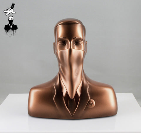 "ABCNT - ""ABCNT"" Bronze Resin Sculpture"