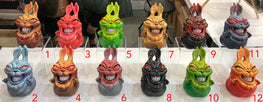 "Saturno ""Naughty Rabbit"" 12 Hand Painted Resin Sculptures - Silent Stage Gallery"