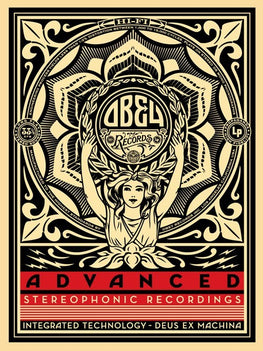 "Shepard Fairey ""Lotus Women Advanced"" Obey Print"
