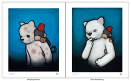 "Luke Chueh ""Monkey On My Back"" Giclee Prints (SET) - Silent Stage Gallery"