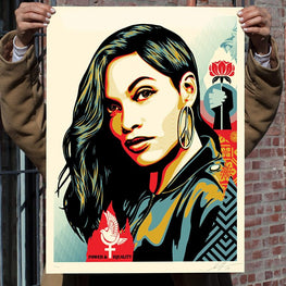 "Shepard Fairey ""Power & Equality"" Obey Print"