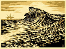"Shepard Fairey ""Water Is The New Black"" Obey Print AP"