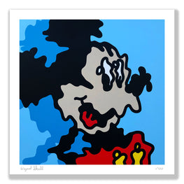 "Wizard Skull - ""Wiggle Mickey"" Fine Art Print - 17"" x 17"" Main Edition"
