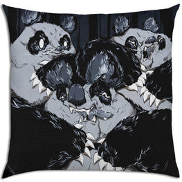 "Aaron ""Angry Woebots"" Martin - ""In The Dark"" Pillow - Silent Stage Gallery"