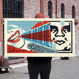 "Shepard Fairey ""Your Ad Here Billboard"" Obey Large Format Print"
