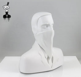 "ABCNT - ""ABCNT"" Ivory White Resin Sculpture - Silent Stage Gallery"