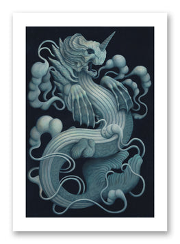 "Candie Bolton ""Bake-Kujira"" Giclee' Print - Silent Stage Gallery"
