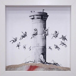 Banksy Boxset Print Walled Off Hotel Palestine Tower
