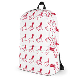 "Silent Stage Gallery White ""Give Me Your Hand"" Backpack Limited Edition"