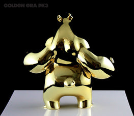 "Aaron ""Angry Woebots"" Martin - Panda King 3 ""Golden Era"" Package - Silent Stage Gallery"