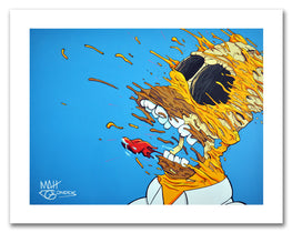 "Matt Gondek - ""Deconstructed Homer"" Fine Art Giclee' Print - Silent Stage Gallery"
