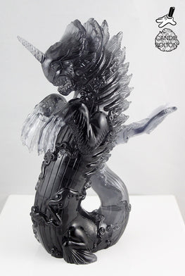 "Candie Bolton ""Black Smoked"" Resin Bake-Kujira - Silent Stage Gallery"