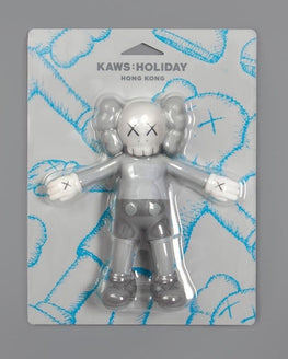 Kaws Holiday Hong Kong Grey Bath Toy