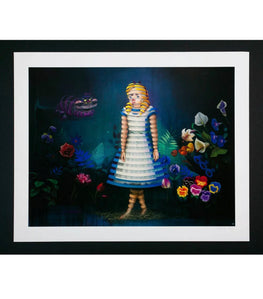 "Super A ""We're All Mad Here"" Fine Art Print"