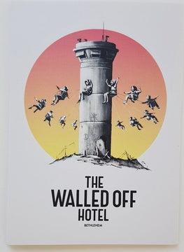 Banksy Walled Off Hotel 12 Postcard Set New