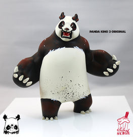 "Aaron ""Angry Woebots"" Martin - Panda King 3 Original Colorway - Silent Stage Gallery"