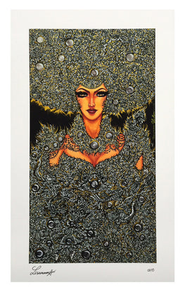 "Lisa Mam - ""Queen of the Universe"" Giclee Print - Silent Stage Gallery"