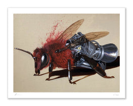 "Robert Bowen ""Red Alert"" Fine Art Print"