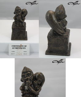 "JRYU ""Speak No Evil"" Bronze Single Edition - Silent Stage Gallery"