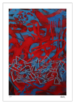 "Stash - ""Blu"" Fine Art Print - Silent Stage Gallery"