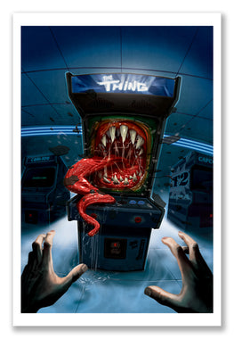 "Saturno ""Strange Arcade Thing"" Giclee' Print - Silent Stage Gallery"