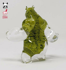 "Panda King 3 ""Bag of Bones"" Toxic GID Colorway"