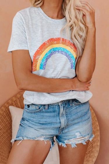 Pot Of Gold Rainbow Tee