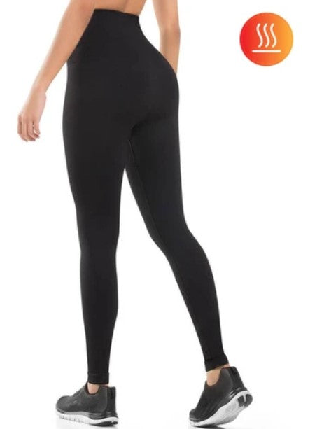Thermal Ultra Compression and Abdomen Control Fit Legging - 910